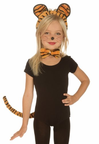 Plush Tiger Costume Kit Child