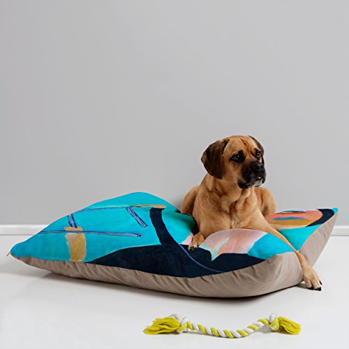 Deny Designs Robin Faye Gates Respect The Triangle Pet Bed, 40 By 30-Inch back-915120