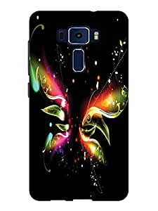 TREECASE Designer Printed Soft Silicone Back Case Cover For Asus Zenfone 3 ZE552KL 5.5 inches