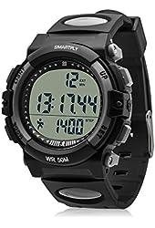 SMARTFLY KP001 Alarm Multi-functional Stopwatch Waterproof 3D Sport Pedometer Watch