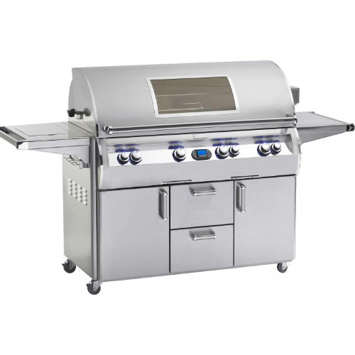 Fire Magic Firemagic Echelon Diamond E1060s Stainless Steel Grill With Single Side Burner E1060s4E1p62W