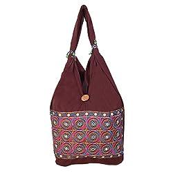 Womaniya Women's Shoulder Bag (Brown-Woman-895)