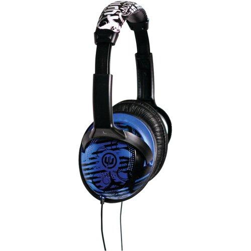 Wicked Wi8201 Reverb Headphone - Black/Blue