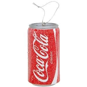 Classic Coca-Cola Coke Soda Pop Can Christmas Ornament