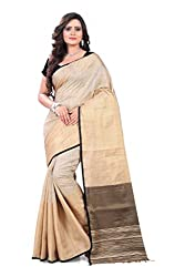 Amigos Fashion Women's Linen Silk Saree (AF-02)