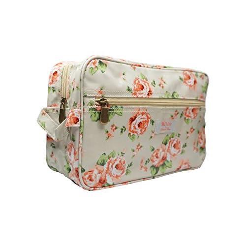 LARGE Vintage Floral WASH Make Up Toiletry BAG - 'Millie' Jennifer Rose Design