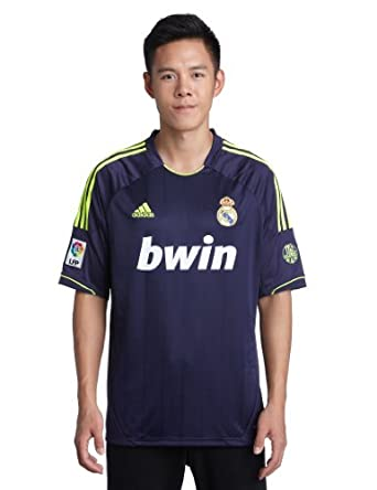 Amazon.com: REAL MADRID Away 2012/2013 Men's Soccer Jersey: Sports
