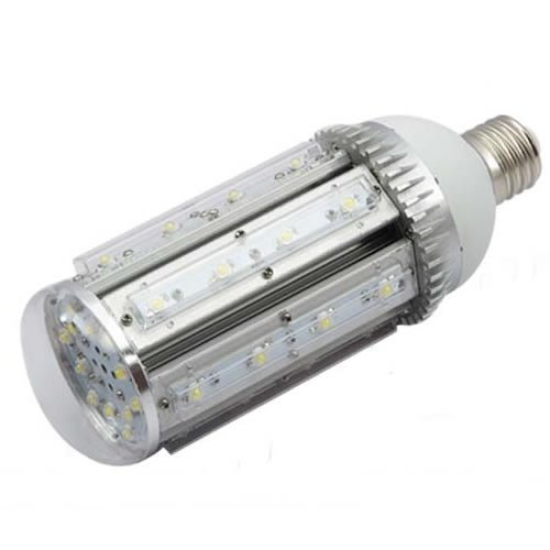 Brightsky E40 36W White Led Street Lamp Courtyard Wall Pack Canopy Bulb 360 Deg Retrofit Light Model A