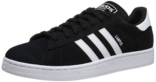 Adidas Originals Men's Campus Fashion Sneaker,Black/White/Black,11 M US