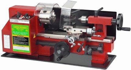 """New Central Machinery 7"""" x 10"""" Precision Mini Lathe"""