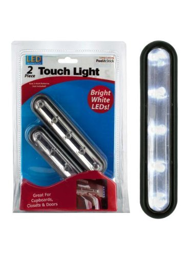 Bulk Buys Stick-Up Led Touch Light Pack Of 5