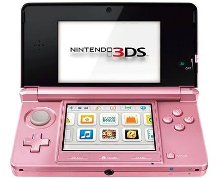Nintendo 3DS - Consola, rosa coral [Importado de Alemania]