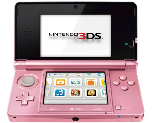 Nach oben Nintendo 3DS - Konsole, coral pink