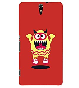 Kingcase Printed Back Case Cover For Sony Xperia C5 Ultra - Multicolor