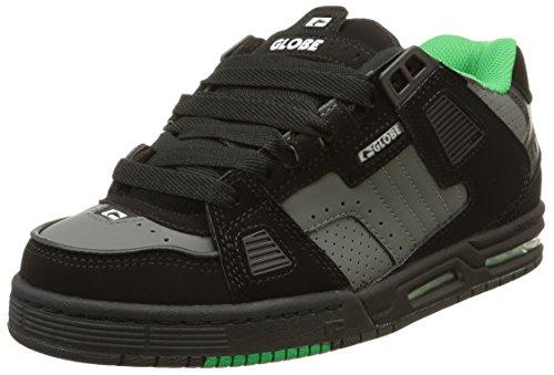 Globe  Sabre,  Sneaker uomo Nero nero, Multicolore (Multicolore (Black/Charcoal/Apple)), 45