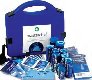 Reliance Medical Masterchef All Blue HSE First Aid Catering Kit 10 Person