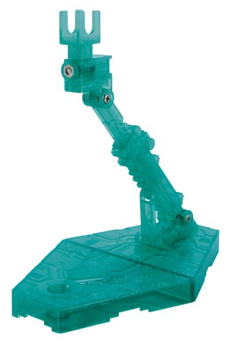 Bandai Hobby Action Base 2 Display Stand (1/144 Scale), Sparkle Green - 1