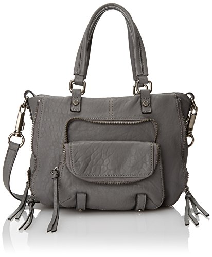 Joelle Hawkens Sparrow Small Top Handle Satchel, Slate, One Size
