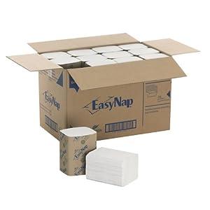 """EasyNap 32002 9.85"""" Length, 6.50"""" Width Embossed Dispenser Napkin (24 packs of 250)"""
