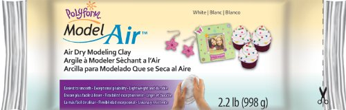 Model Air Dry Modeling Clay, White (White Air Dry Clay compare prices)