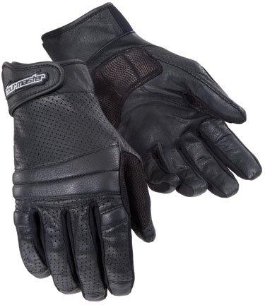 Tourmaster Summer Elite 2 II Men's Vented Motorcycle Gloves Black SM