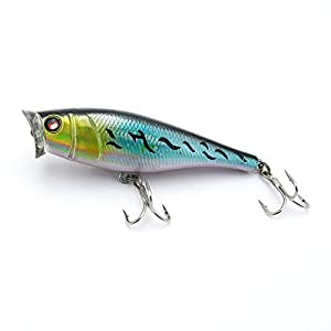 1x fishing lures crankbait freshwater for Amazon fishing spinners