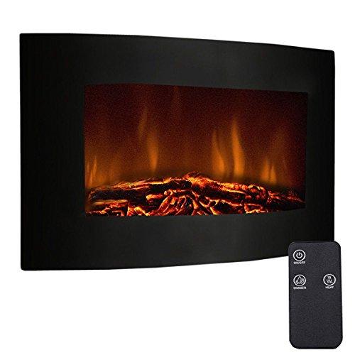 Goplus-Elektronische-Kamin-Wandkamin-900W1800W-Elektrokamin-Wandmontage-Heizung-Ofen-Kaminfeuer-LED-Flammen-mit-Fernbedienung