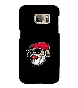 EPICCASE Beard swag Mobile Back Case Cover For Samsung Galaxy S7 (Designer Case)