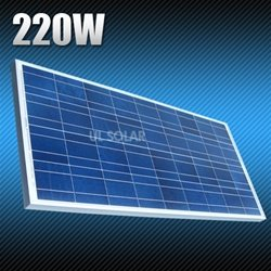 220 Watt 12 Volt Multicrystalline Solar Panel