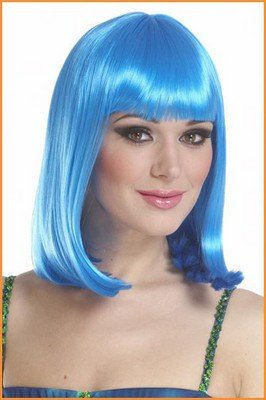 Halloween Wigs Blue Peggy Sue Costume Wig