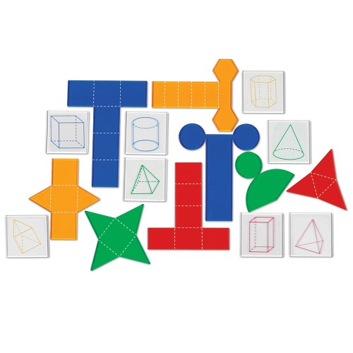 Learning Resources Overhead Folding Geometric Shapes - 1