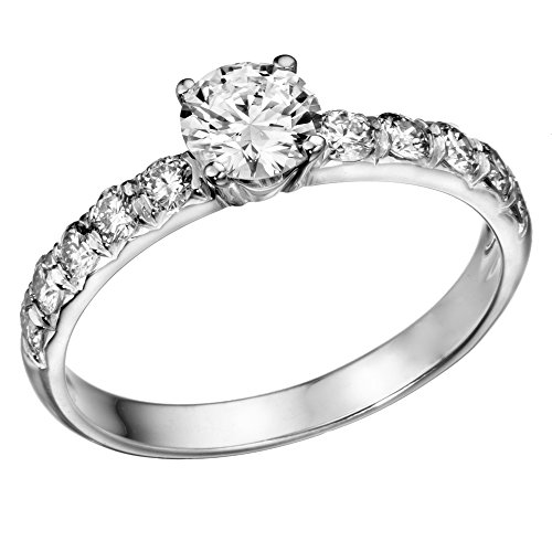 1-ctw-Round-Diamond-Solitaire-Engagement-Ring-in-14k-White-Gold-size-6