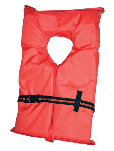 Absolute Outdoor Kent Adult Compliance PFD Type II Life Jacket