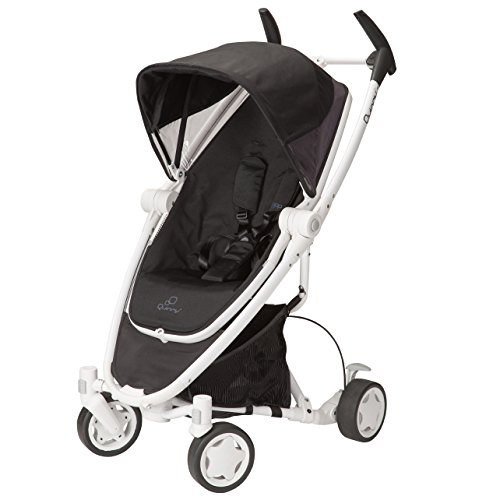 Quinny Zapp Xtra Stroller with Folding Seat, Black Irony - 1