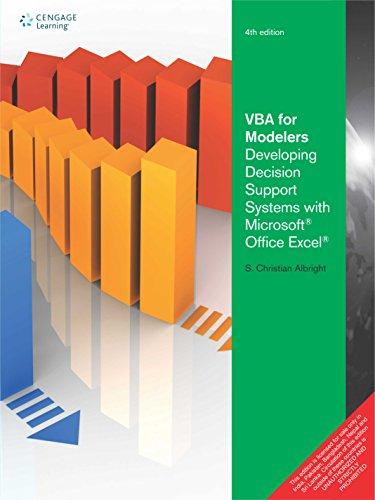Vba For Modelers: Developing Decision Support Systems With Microsoft Office Excel, 4Ed (Vba For Modelers compare prices)