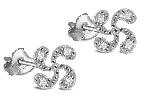 Adens-Jewels-Bijoux-Basques-Croix-Basque-Boucles-doreille-Argent-Femme-zirconites-Puces-3mm