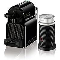 De'Longhi Nespresso Inissia Espresso Machine with Aeroccino (Black)