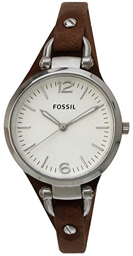 Fossil Fossil Georgia Analog Silver Dial Women's Watch - ES3060
