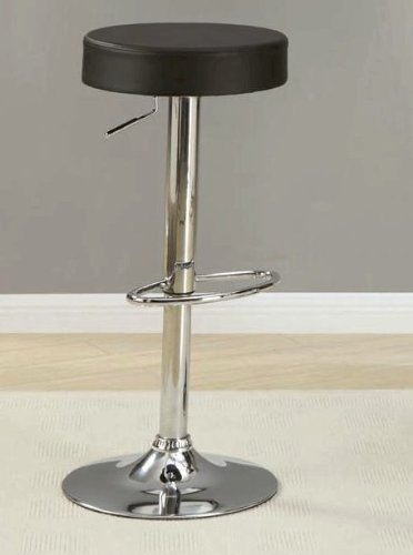 Modern Style Swivel Bar Stool With Round Cushion Seat In  : 41tglDQ nFL from sites.google.com size 372 x 500 jpeg 18kB