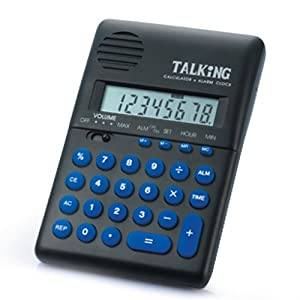 Talking Calculator - 8 Digit, Handheld by Active Forever