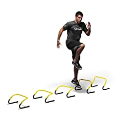 SKLZ Speed Hurdles - 5 Adjustable Height Hurdles with Free SKLZ Carry Bag by SKLZ