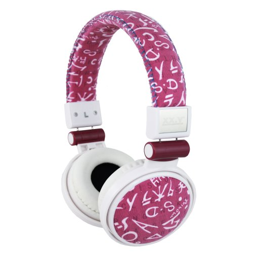 Xx.Y Top Sound Stereo On-Ear Headphones Suede Pink