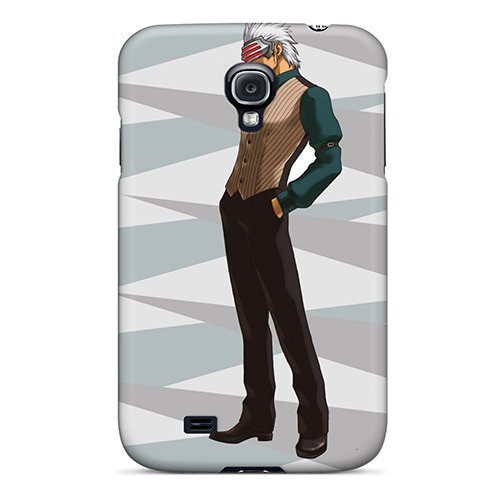 Protection Case For Galaxy S4 / Case Cover For Galaxy(Godot Phoenix Wright Ace Attorney) front-197674