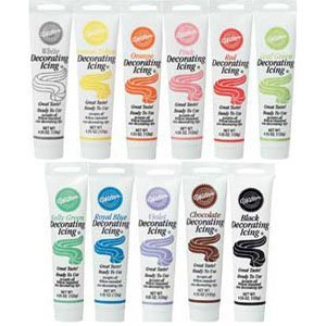 Wilton Master Set Of All 11 Ready To Use Icing Tube Colors