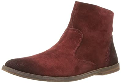Kickers 281313-50 Womens Suede leather, Red, Size 36 EU