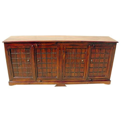 Buy Low Price sierralivingconcepts Solid Wood 2 Cabinet Storage Iron Work Sideboard Buffet (B000UE2SKG)