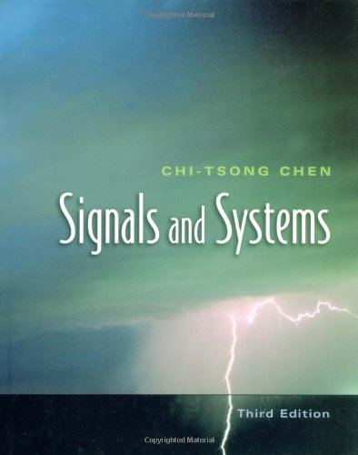 Signals and Systems (The Oxford Series in Electrical and Computer Engineering)