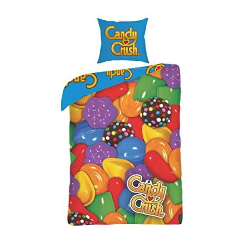 Candy Crush Childrens/Kids Reversible Single Duvet Cover Bedding Set китайский captains of crush купить