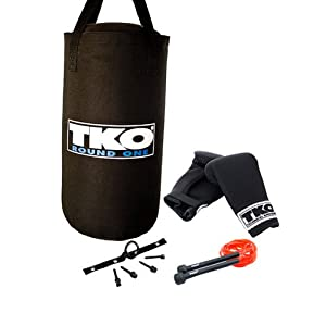 TKO 25 lb. Kids Heavy Bag Boxing Set from Unified Fitness Group Inc.