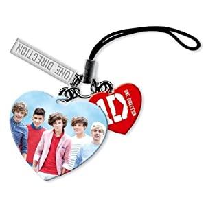 One Direction 1d Phone Charm by Rock Off